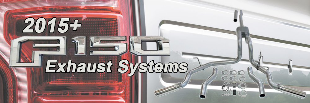 2015 f150 catback exhaust systems