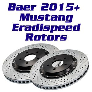 Baer Eradispeed Rotors 2015+ Mustang