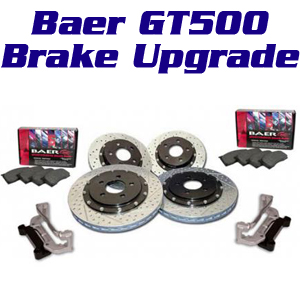 Baer Eradispeed GT500 Rotors