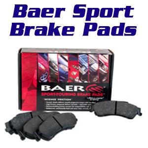 Baer sports brake pads