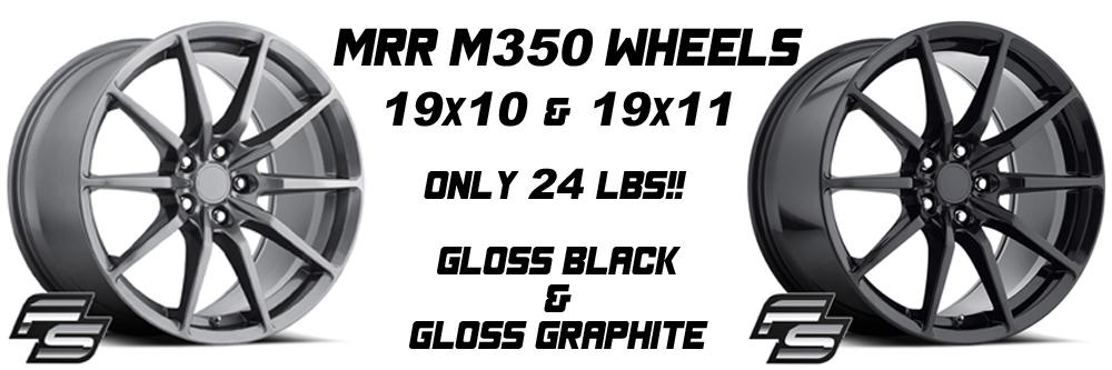 MRR M350 Wheels
