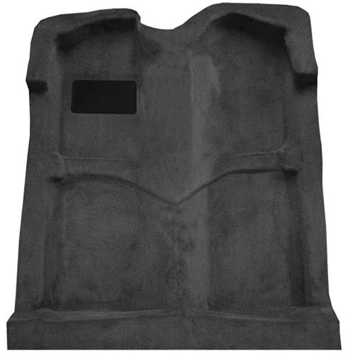 Auto Custom Carpet, Charcoal, 1999-04 Mustang Coupe and Convertible