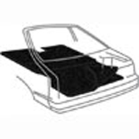 ACC Hatch/Rear seat Carpet 1987-93 Mustang
