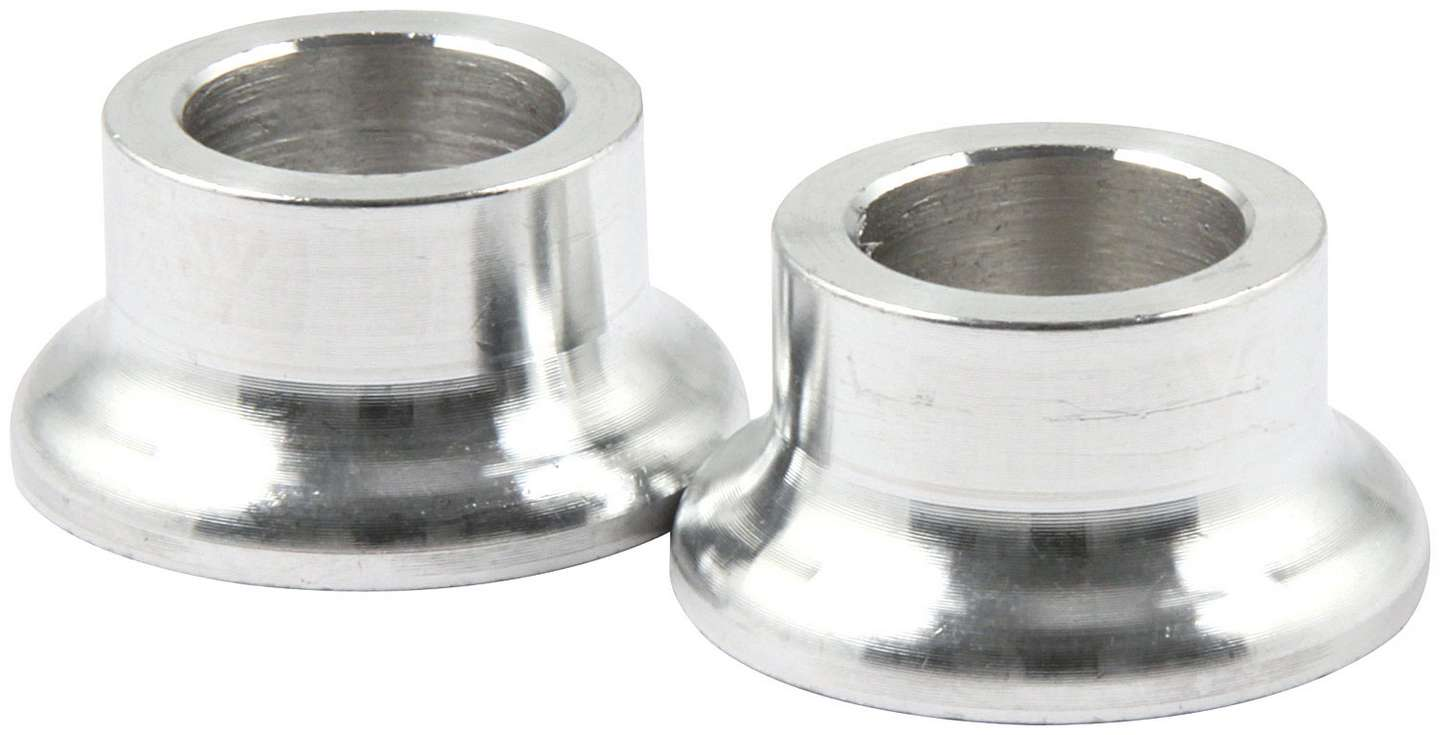 Allstar Tapered Spacers, Aluminum 1/2 I.D., 1/2 Long