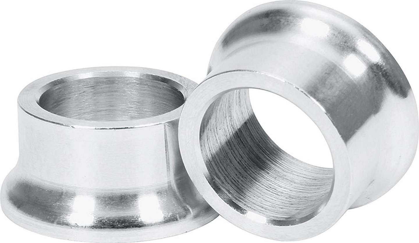 Allstar Tapered Spacers, Aluminum 5/8 I.D., 1/2 Long