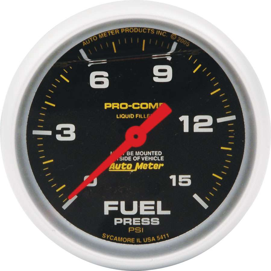 Allstar Replacement ATM FP Gauge Pro-Comp 15 PSI