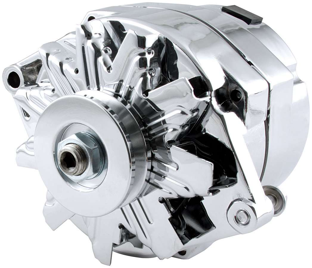 Allstar GM Single Wire Chrome Alternator
