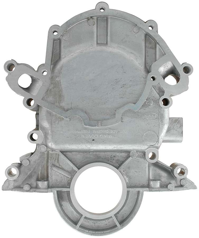 Timing Cover SB Ford, reverse rotation, 1985-93 Mustang 5.0