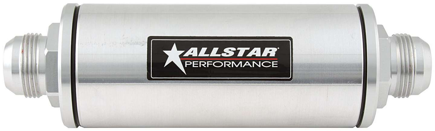Allstar Inline Oil Filter With -16AN Fittings