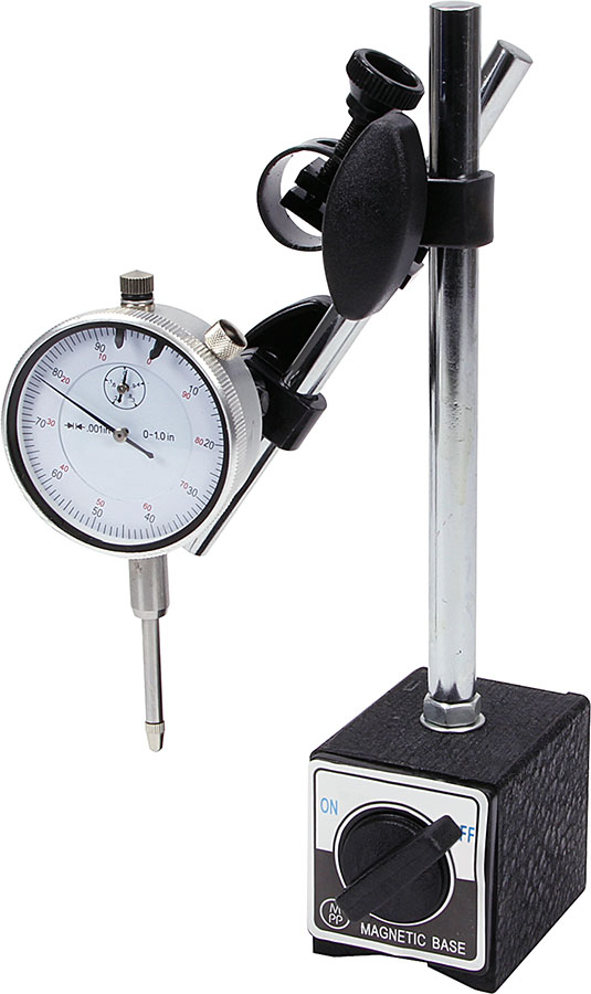 Allstar Dial Gauge With Magnetic Base