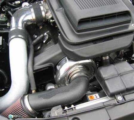 ProCharger Stage II Intercooled System with P-1SC, 2003-2004 MUSTANG MACH 1 (4.