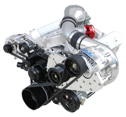 ATI LS TRANSPLANT COG (EFI AND CARB) PROCHARGER Supercharger Kit by
