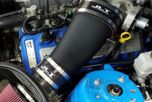 JLT Resonator delete intake tube, 2010-2014 GT500