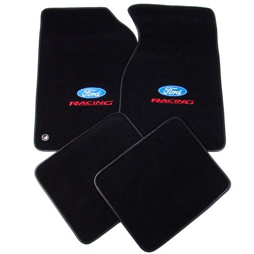ACC Floor Mat 94-04 Mustang w/ Ford Racing logo