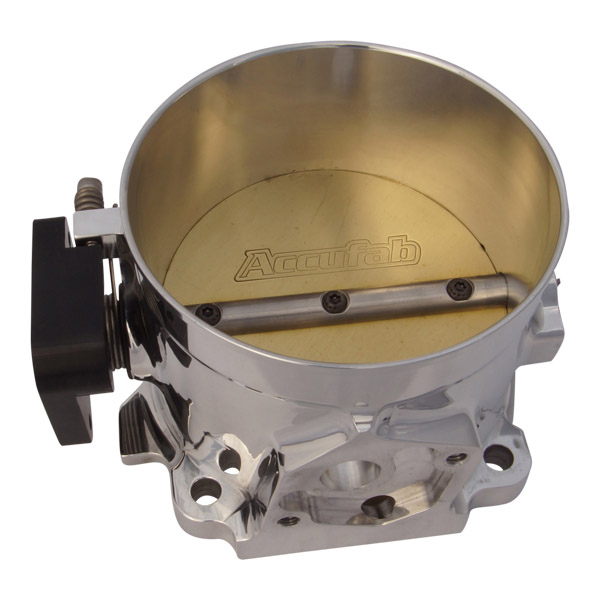 Accufab 105mm Throttle body (Race), Mustang 5.0 style