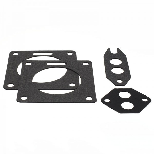 Accufab throttle body gasket set, 75mm, 1986-93 Mustang