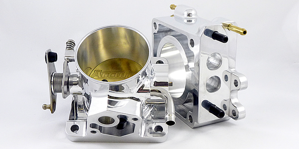 Accufab 70mm Throttle Body and EGR Spacer, 86-93 Mustang 5.0