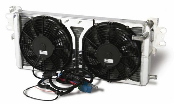 Afco GT500 Pro Series, Dual Pass Heat Exchanger w/Fans 2007-12 GT500