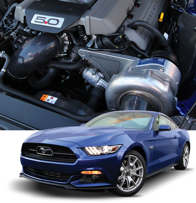 Procharger Supercharger kit, P1SC-1 Intercooled with tune, 2015+ Mustang GT