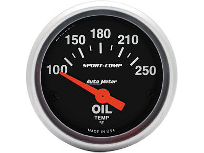 Autometer Sport Comp Oil Temp 2\