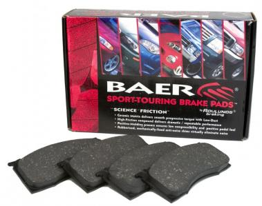 Baer Sport Pad Kit, 1994-04 Mustang rear, Baer Ironsport rear