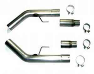 Bassani Mid pipe to stock cats, 3 stainless, 2007-09 GT500