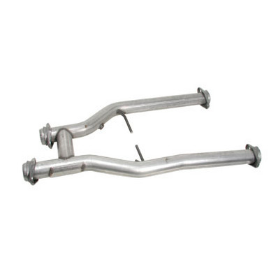 BBK H-Pipe for Long Tube Headers, 2.5 Offroad, 1996-04 Mustang and Cobra