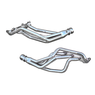 BBK Coyote Swap Long Tube Exhaust Headers - Silver Ceramic