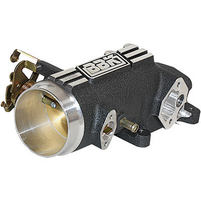 BBK Throttle Body and Plenum, 1pce, 78mm, 1996-04 Mustang GT