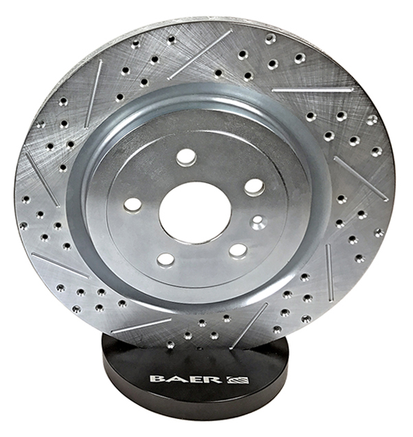 BAER Sport Rotors, Rear, 2015+ Mustang GT and PP