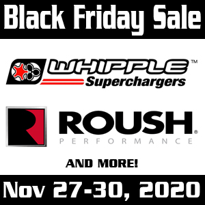 black friday sale 2020 whipple and roush