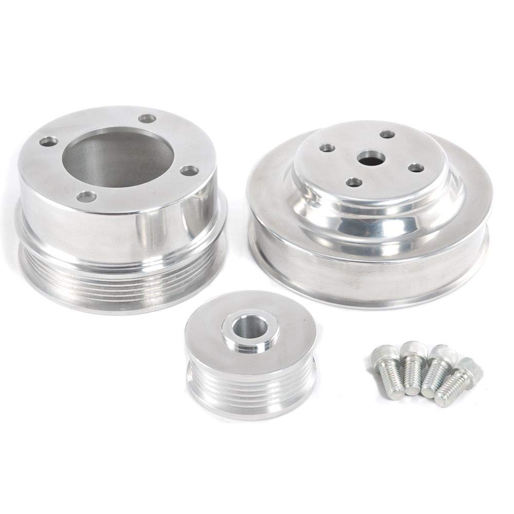 Aluminum Underdrive pulleys, 1979-93 Mustang 5.0