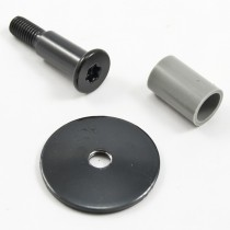 Hatch Striker bolt, washer and bushing, 87-93 Mustang