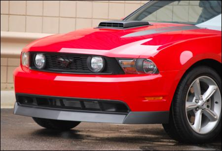 Classic Design Concepts Front Chin Spoiler, 2010+ Mustang