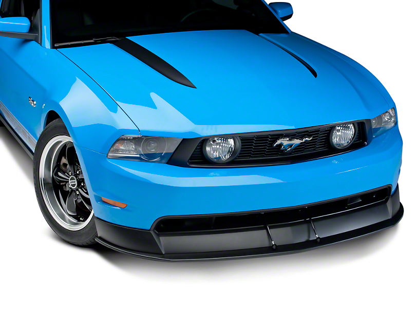 RTR Front Spoiler with Splitter, 2010-2012 Mustang GT