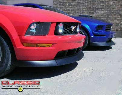 Classic Design Chin Spoiler, 2005-09 Mustang GT