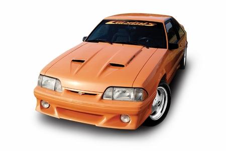 Cervini\'s Ram Air Hood, 1987-93 Mustang