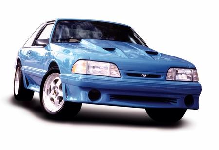 Cervini\'s Stormin Norman Hood - 1987-93 Mustang