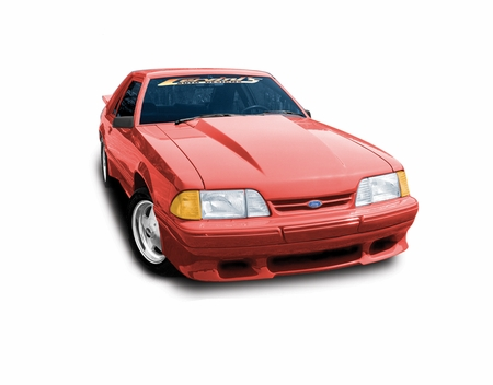 Cervini\'s 2.5 Cowl Induction Hood, 1987-93 Mustang
