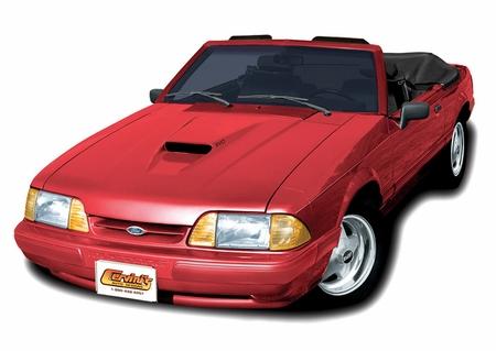 Cervini\'s SVO Hood, 1987-93 Mustang