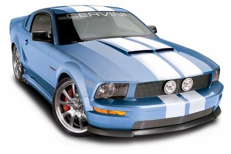 Cervini\'s 67\' Hood, 2005-2009 Mustang