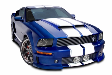 Cervini\'s Ram Air Hood, 2005-09 Mustang
