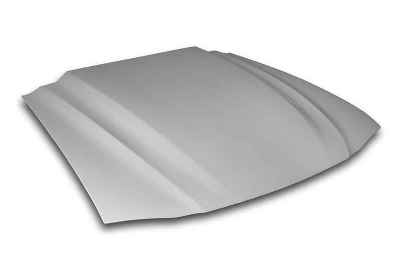 Cervini\'s Cobra R hood, lift off, 1994-98 Mustang