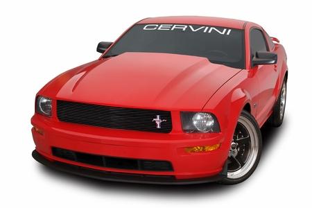 Cervini\'s Cobra R Cowl Hood, 2005-09 Mustang