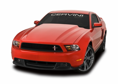 Cervini\'s Cobra R Cowl Hood, 2010-12 Mustang