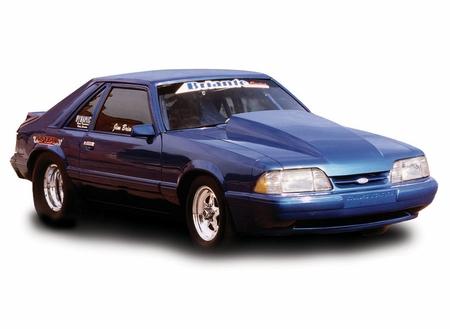 Cervini\'s 4 Cowl Hood, 1987-93 Mustang