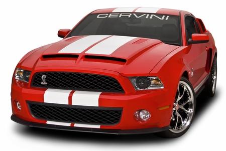 Cervini\'s Type IV Ram Air Hood, 2010-14 GT500