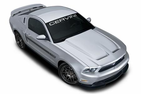 Cervini\'s Heat Extractor Hood, 2010-12 Mustang