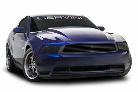Cervini\'s 3 Cowl Hood, 2010-12 Mustang