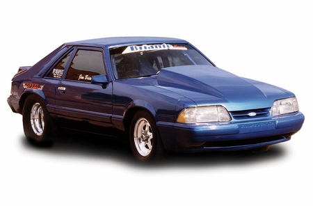 Cervini\'s 4 Cowl Hood, 1983-86 Mustang